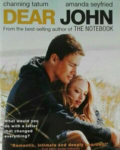 Dear John DVD Channing Tatum, Amanda Seyfried Movie, from THE NOTEBOOK author