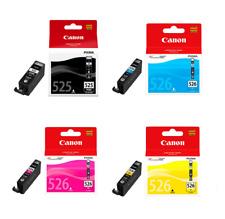 CANON PGI525BK BLACK X 1 +  CLI526 X 3 C/M/Y PIXMA iP4850 MG5150 MG5250 MG6150