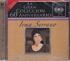 Irma Serrano La Gran Colección 60 Aniversario 2CD CBS New Nuevo Sealed