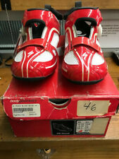 SPECIALIZED SWORKS TRIVENT TRIATHLON SHOE 46/12.25 CARBON RED/WHITE NEW