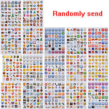 Hot 48 Die Cut Emoji Face Emotion Pack IPhone Android Laptop Decor Stickers tang
