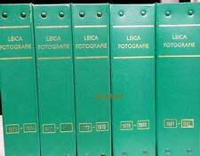 Leica Fotographie Magazine in Binders 1973 -1982 and 14 Misc issues