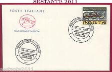 ITALIA FDC CAVALLINO LINEA FERROVIARIA PORTOCIVITANOVA FABRIANO 1987 Y128