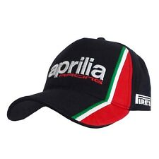 Nouvelle APRILIA Official World Superbikes Racing Team Cap-Free Worldwide Shipping