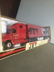JET Tools 1:43 Scale Die-Cast Freightliner Replica Truck Coin Bank Sounds Lights