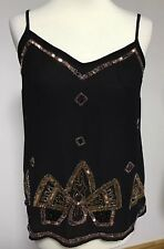 G:21 Top Size 8 Sequin & Beaded Detail