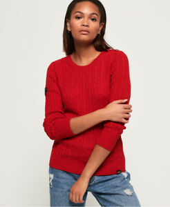 Superdry Womens Croyde Cable Knit