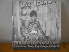 2x Vinyl LP Cubanismo From The Congo, The World Is Shaking 1954-55 Honest Jons