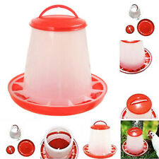 Chicken Poultry Feeder Bird Quail Food Drink Water Automatic Plastic Bucket