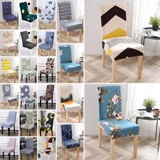 1/2/4/6PCS Stretch Sala da Pranzo Sedia Sedile Copre Slip Furniture Protettore rimovibile