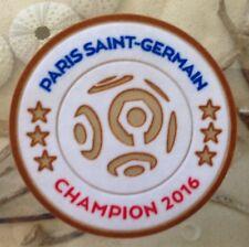 2016 Ligue 1 Paris Saint-Germain Champion Patch Badge Pièce Flicken Parche