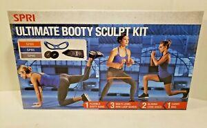 SPRI Ultimate Total Body Booty Sculpting Kit 3 Level Resistance I1
