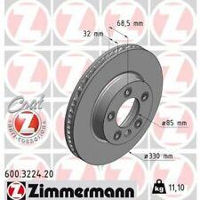 1x Bremsscheibe ZIMMERMANN 600.3224.20