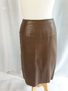 Leather Skirt Size 8 Midi