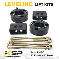 """KSP 3"""" Front and 2"""" Rear Leveling lift kit Fits for 2004-2019 Ford F150 2WD 4WD"""