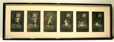 Série 6 CPA photographies PETITS ANGES BONNE ANNEE NPG STIEGLITZ vers 1900 CADRE