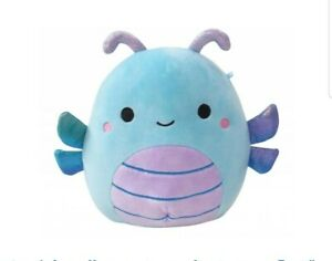 """SQUISHMALLOWS LUXE HEATHER Blue Dragonfly 7"""" Soft Plush RARE GENUINE Gift NEW!"""