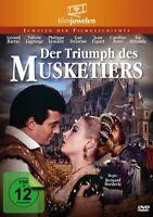 DER TRIUMPH DES MUSKETIERS-M - BARRAY,GERARD   DVD NEU