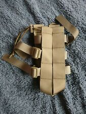 1x Tan Molle Military Water Bottle Bag Kettle Pouch Holder Belt Outdoor Pouch
