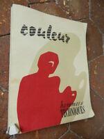 Rivista Uomo E Tecniche - Colore Per I Business 1957
