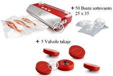 Macchina per sottovuoto Tre 3 spade Takaje rossa confezionatrice vasetti - Rotex