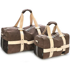 Unisex Canvas Travel Luggage Shoulder Bag Overnight Duffle Weekend Bag Handbag