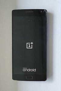 OnePlus 2 - 64Gb - Sandstone Black (Unlocked) - small crack at top of screen