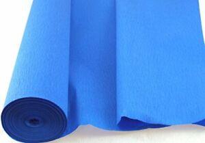 1 Dark Blue Large Crepe Paper Roll  26metres x 50cm by shop@clikkabox