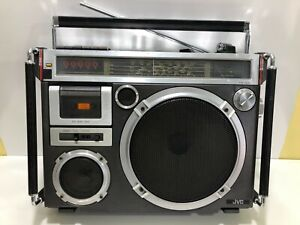 JVC RC-550S Vintage BOOMBOX Stereo Cassette / Rare Old School