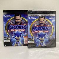 Sonic the Hedgehog (4K Ultra HD+Blu-ray+ Digital)