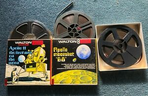 Super 8mm films of Apollo moon missions