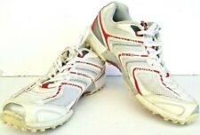 Gray Nicolls Mens Rubber Sole Cricket Shoes White Indoor Spikeless Size US 7