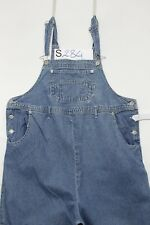 Salopette MOTHERHOOD (Cod. S284)Tg.S Premaman Jeans usato vintage Original