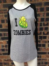 Zombie Halloween Girls Long Sleeved TShirt Size 14 M