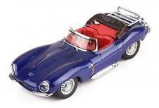 ixo 1:43 1957 Jaguar XK SS Top Down Convertible in Dark Blue
