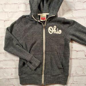 Homage Ohio State Buckeyes Script Hooded Sweatshirt Kids 6 Boys Hoodie