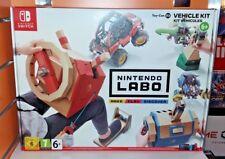 Nintendo LABO Kit Veicoli SWITCH NUOVO SIGILLATO ITA