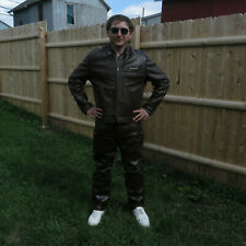 Vintage Horsehide Leather Jacket  with Langlitz Leather Pants