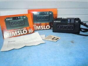 Nimslo 3d camera in original box