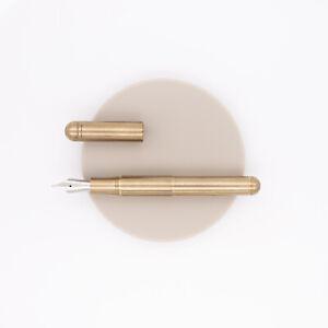 Kaweco Supra Pen Fountain Pen Brass