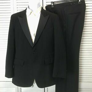 Raffinati Robert Wagner Collection Vintage 80's Tuxedo Black 40R X 34 waist