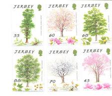 Jersey-Trees mnh set of 6 - 2012