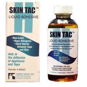 TORBOT Skin Tac Liquid Adhesive #MS407 - Non-Latex - 4 Fluid Ounces