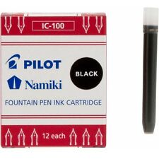 Pilot Namiki Ink Refill Cartridge Black 12Pk