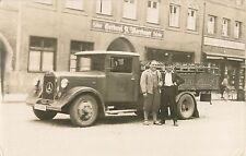 c1940 Mercedes Diesel Beer Truck, Mühldorf, Germany Real Photo Postcard/RPPC
