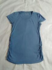 Blue Motherhood maternity top tee cotton