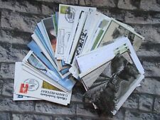 Trains Lot First Day Covers / Postcards/ Maxi Cards Stamps
