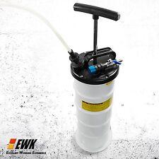 EWK Manual 6.5Liter Oil Changer Vacuum Fluid Extractor Pump Tank Remover