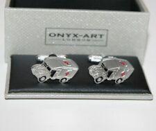 Truck Design *New* Boxed Gift Novelty Mens Cufflinks - Ambulance Medical