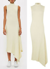 TOPSHOP Asymetric Ribbed Dress by Boutique Sizes 4 to 16